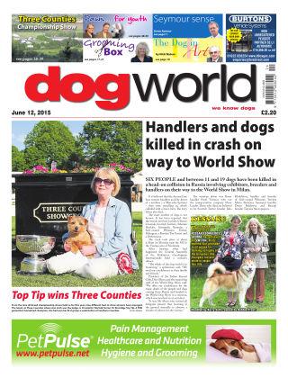 Dog World 12th June 2015
