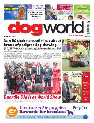 Dog World 19th June 2015