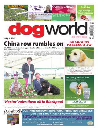 Dog World 3rd July 2015