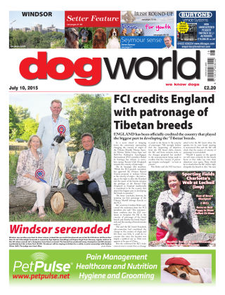 Dog World 10th July 2015