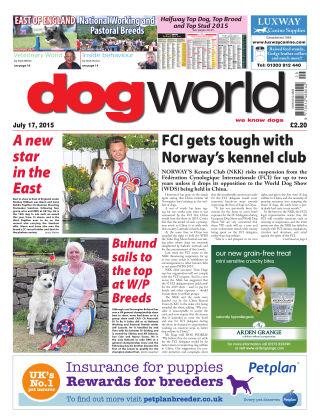 Dog World 17th July 2015