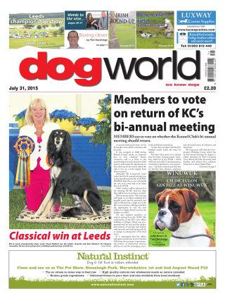 Dog World 31st July 2015