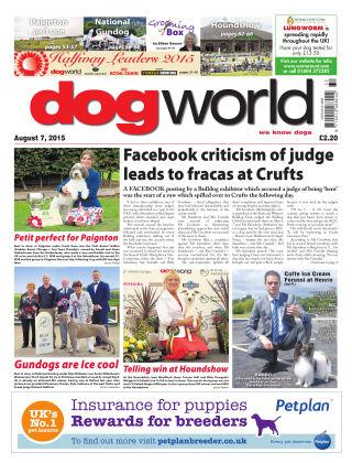 Dog World 7th August 2015