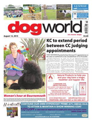 Dog World 14th August 2015