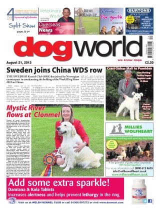 Dog World 21st August 2015