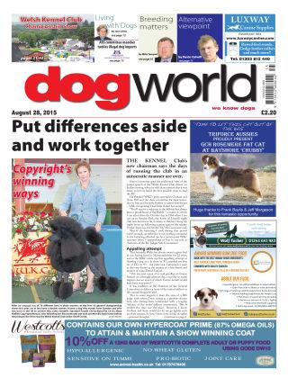 Dog World 28th August 2015