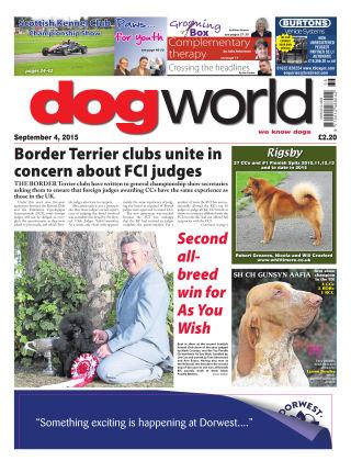 Dog World 4th September 2015