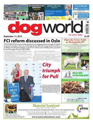 Dog World 11th September 2015