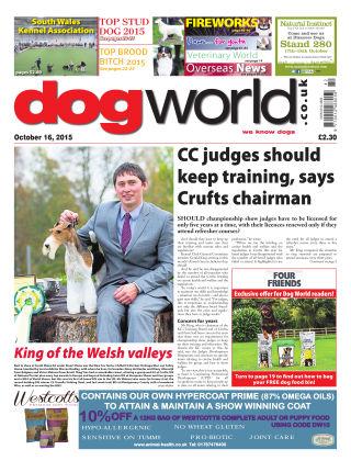 Dog World 16th October 2015