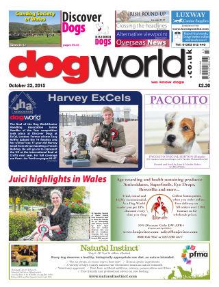 Dog World 23rd October 2015