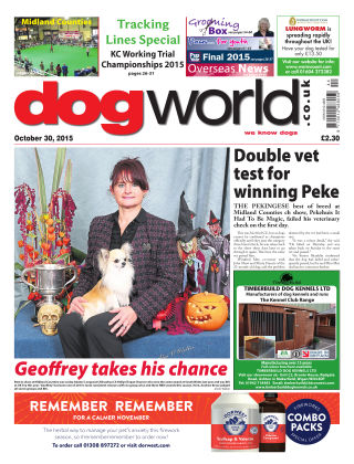 Dog World 30th October 2015