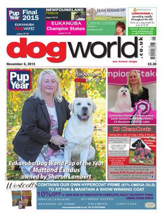 Dog World 6th November 2015