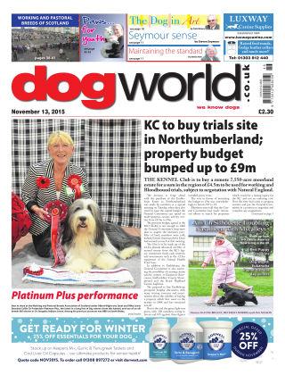 Dog World 13th November 2015