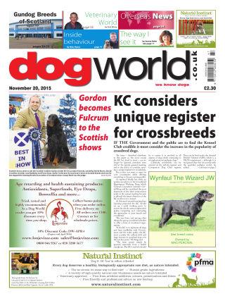 Dog World 20th November 2015