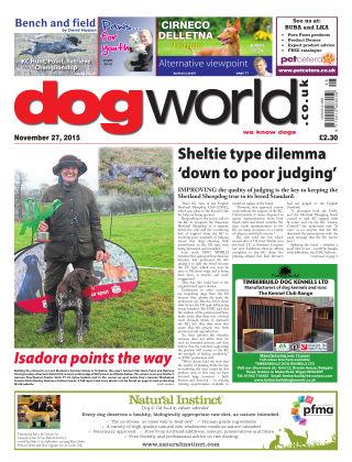 Dog World 27th November 2015