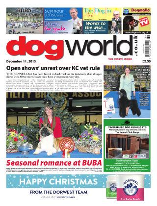 Dog World 11th December 2015
