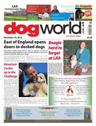 Dog World 18th December 2015