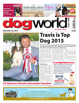Dog World 25th December 2015