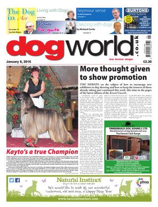 Dog World 8th January 2016
