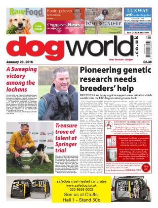 Dog World 29th January 2016