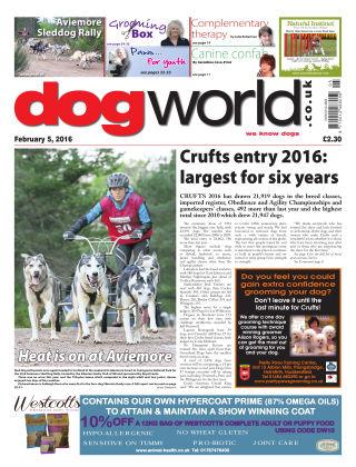 Dog World 5th February 2016