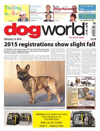 Dog World 12th February 2016