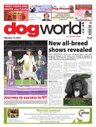 Dog World 19th February 2016