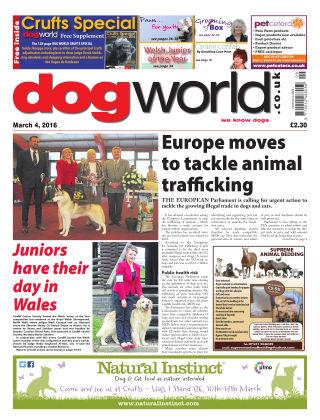 Dog World 4th March 2016