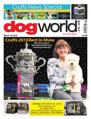 Dog World 18th March 2016