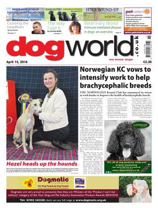 Dog World 15th April 2016