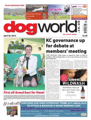 Dog World 29th April 2016