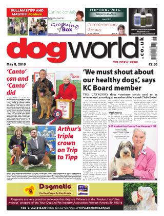 Dog World 6th May 2016