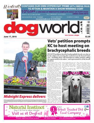 Dog World 17th June 2016