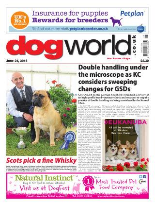 Dog World 24th June 2016