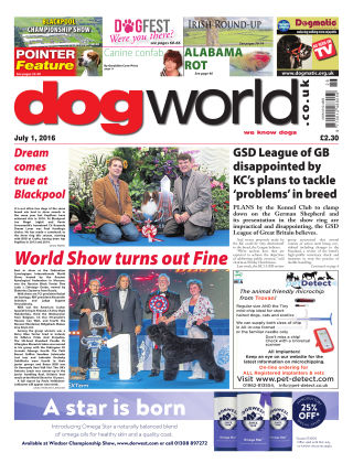 Dog World 1st July 2016