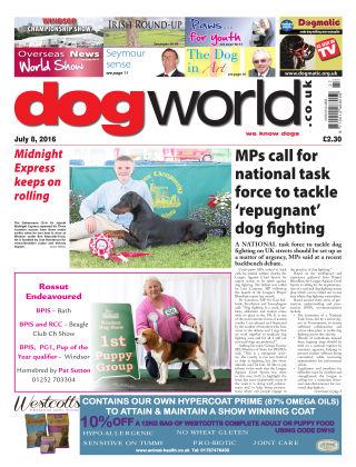 Dog World 8th July 2016
