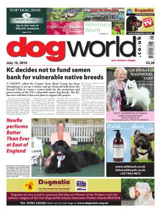 Dog World 15th July 2016