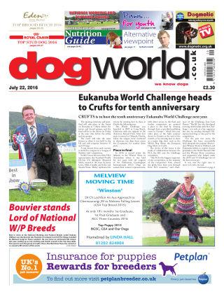 Dog World 22nd July 2016