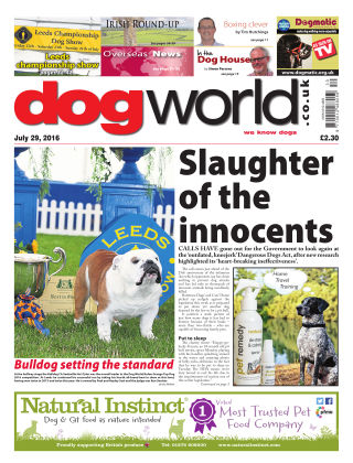 Dog World 29th July 2016