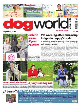 Dog World 12th August 2016