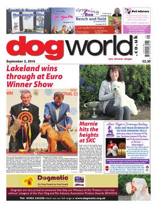 Dog World 2nd September 2016