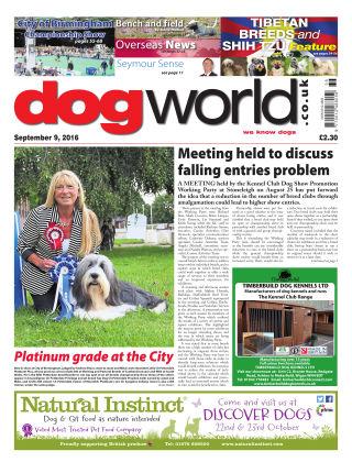 Dog World 9th September 2016
