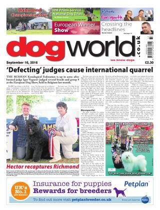 Dog World 16th September 2016