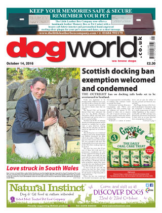 Dog World 14th October 2016