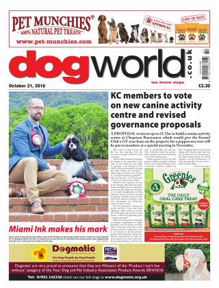 Dog World 21st October 2016