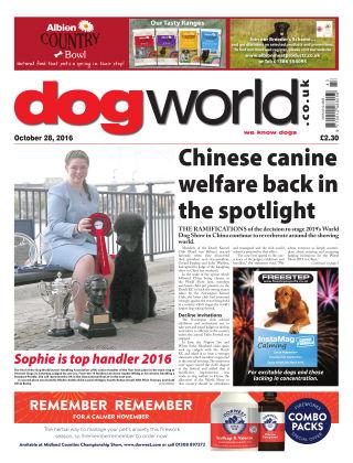 Dog World 28th October 2016