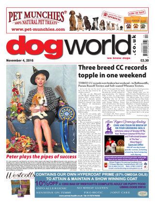 Dog World 4th November 2016
