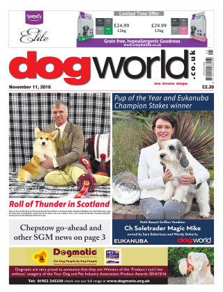 Dog World 11th November 2016