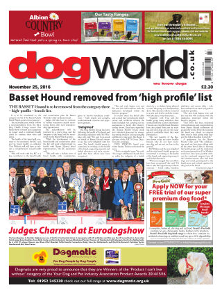 Dog World 25th November 2016