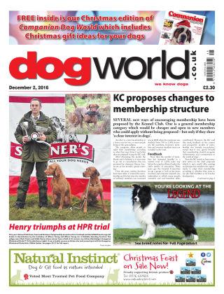 Dog World 2nd December 2016